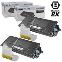 LD Set of 2 Comp Kyocera-Mita Black TK-3102 1T02MS0US0 Toner FS-2100DN
