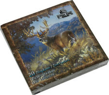 Deer Scene Napkins Package of 20 Paper 3 Ply Wild Animals New Rivers Edge