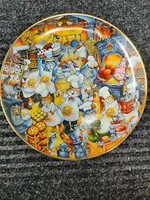 """Franklin Mint """"Kitchen Katastrophe"""" Bill Bell Cat Plate Free Ship"""