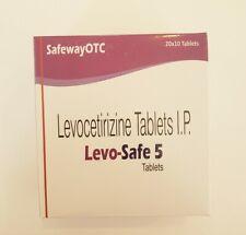 200 Levocetirizine tablets - 5mg generic Xyzal - SAME DAY SHIP