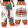 12 Color Dashiki African Pants Cotton Aladdin Yoga Harem Unisex BOHO Var