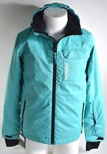 2016 NWT GRENADE GLOVES TEAL YOUTH JACKET $140 L chest pocket zipper closure