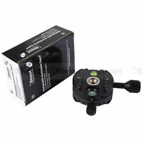 Panoramic Head for Arca-Swiss Mount Camera Tripod Ball Head&Quick Release Plate