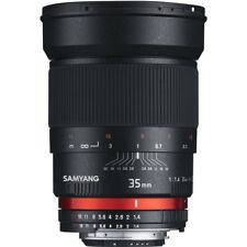 Samyang 35mm F1.4 Come UMC Lente a Sony E FIT