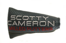Titleist Scotty Cameron Milled Putters Grey/Black Small Mallet Putter Headcover