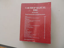 Ford Mustang 1989 service ATELIER SHOP MANUAL manuel atelier