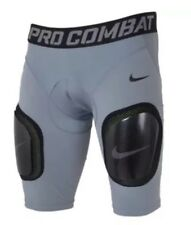 Nike Pro Combat Carbon Soccer Hardplate Lacrosse Compression Shorts Pad Mens 2Xl