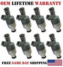 91-93 Cadillac Commercial Chassis 4.9L V8| 8x Reman Fuel Injectors OEM Rochester