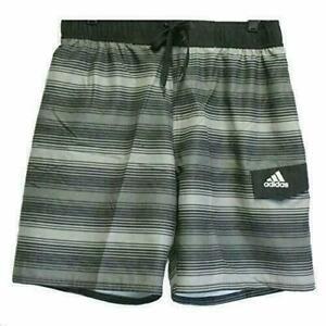 Adidas Energy Stripe 2.0 Men's Swim Shorts Trunks, Charcoal-Pick Your Size - NEW