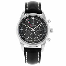 Breitling Stainless Steel Case Men's Luxury Wristwatches