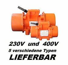 VM760 Vibrationsmotor 3x 230V 400Volt Motorrütler Elektrorüttler Baurüttler#