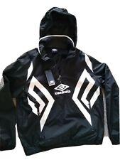 Umbro Windbreaker Men's Jacket Brand New $$$ Black&White RRP 95 Eur