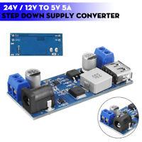 24/12V To 5.2V 5A Voltage Power Buck Module DC-DC Step Down Supply Converter //
