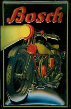 Blechschild 20 x 30 cm, Bosch Motorrad, Prägung, Nostalgie, Retro