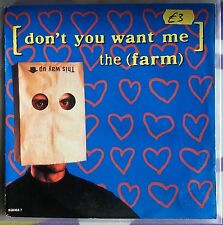 "The Farm - Dont You Want Me - 1992 End Product 658468 - Indie / Britpop 7"" vinyl"