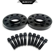 """5x112 2pcs 20mm 0.89"""" Forged 7075T6 (Front) Wheel Spacers for Mercedes Benz W123"""