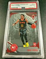 TRAE YOUNG 2018 PANINI CHRONICLES #597 PHOENIX ROOKIE RC PSA 10 HAWKS NBA (A)