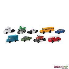 On the Road Toob/Safari Ltd/toob/bus/truck/car/firetruck/cop car