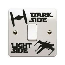 Star Wars Dark Light Side Switch Vinyl Decal Sticker Ships Lightswitch Wall
