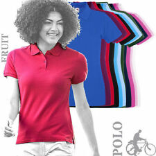 Fruit of the Loom Polo Fitted Tops & Shirts for Women