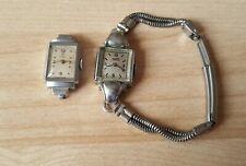 2 x Ladies Vintage Rolex Tudor Cocktail Wrist Watches In Working Order