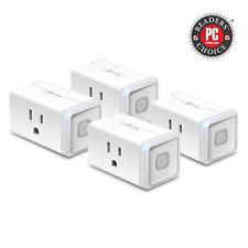 Kasa Smart Plug HS103P4, Smart Home Wi-Fi Outlet Works with Alexa, Echo, Google
