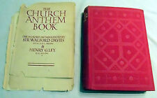 Church Anthem Book Davies/Ley Oxford U Press 1934 3rd Impression DecorativeCover