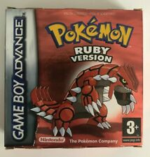Pokemon: Ruby Version - Nintendo Gameboy Advance Original Boxed Decent Condition
