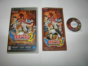 Fairy Tail Portable Guild 2 Playstation Portable PSP Japan import US Seller