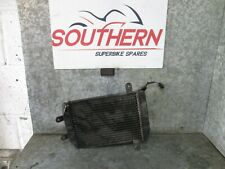 SUZUKI BURGMAN AN 250 2001 RADIATOR AND FAN (14B)