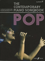 CONTEMPORARY SONGBOOK Piano Vocal Guitar Sheet Music Book Pop Rock Chart Hits