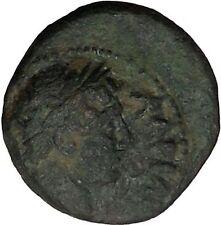 HADRIAN visits Gaza in Judaea 132AD Authentic Ancient Roman Coin Hercules i52679