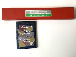 GARTER BAR for Standard Gauge 4.5 mm Knitting Machines With Box And Instructions