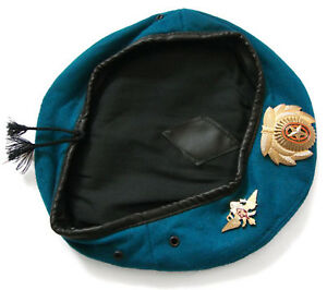 Russian Army Military Blue VDV Paratrooper Airborne Beret Hat