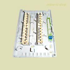 Minibox 201C Verteiler Kasten mit 2x 10DA LSA Leiste VVDI Aufputz für innen grau