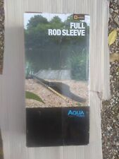 Aqua Products 12ft Single Rod Sleeve Fishing Rod Protector 404801 Free Postage