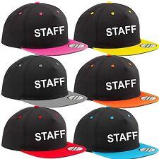 STAFF hat CAP colours UNISEX bar club event work shop etc. top te