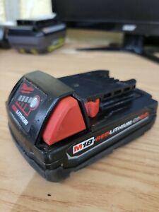 Milwaukee Genuine OEM 48-11-1820 M18 18v REDLITHIUM 2.0 Compact Battery Pack