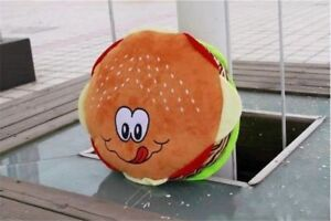 Super Big Hamburger Cheese Burger Cushion Pillow Sofa Pillow Plush Toys Kid Gift