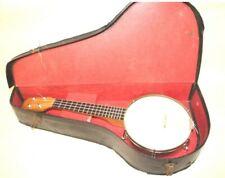 More details for vintage cased banjolele ukulele