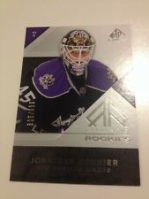 2007-08 SP Game Used Jonathan Bernier RC #142 #/999 Toronto Maple Leafs