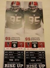 2013 ATLANTA FALCONS VS TAMPA BAY BUCCANEERS TICKET STUB 10/20/13 MATT RYAN