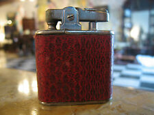 Vintage Ronson Whirlwind Leather Wrapped Lighter