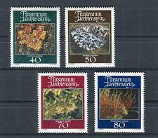 Liechtenstein 1981 Muschi e licheni  MNH