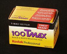 Kodak Professional T-Max 100 135/36 5 films à court terme MHD 12/2018
