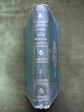 HISTOIRE DES GAULOIS Amédée Thierry 6e Ed. 1866 Vol.2 seul Cartonnage romantique