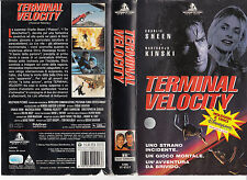 Terminal Velocity (1994) VHS HOLLYWOOD PICTURES