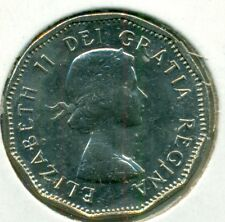 1960 CANADA FIVE CENTS, CHOICE BRILLIANT UNCIRCULATED, GREAT PRICE!