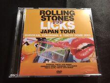 Rolling Stones Licks Japan Tour Yokohama, Tokyo Done, Budakon 2003