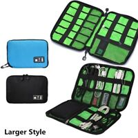 USB Flash Drives Case Organizer Bag Digital Pouch Data Earphone Cable Storage